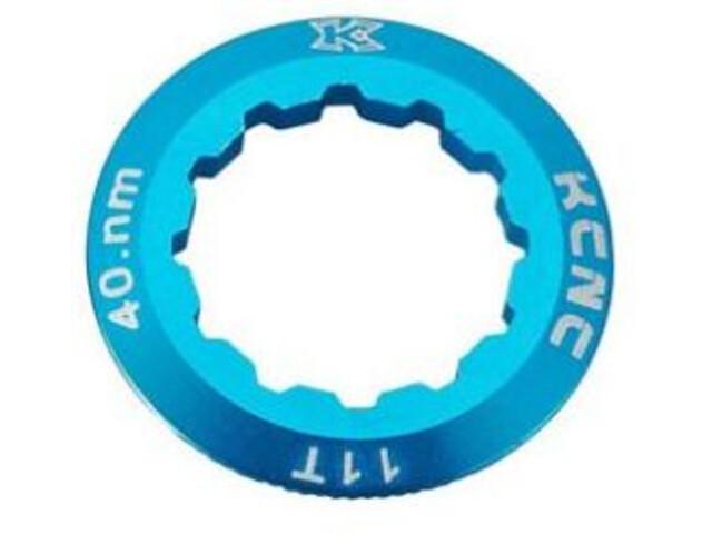 KCNC Shimano Cassette Lockring 10/11/12-speed 11T, blue
